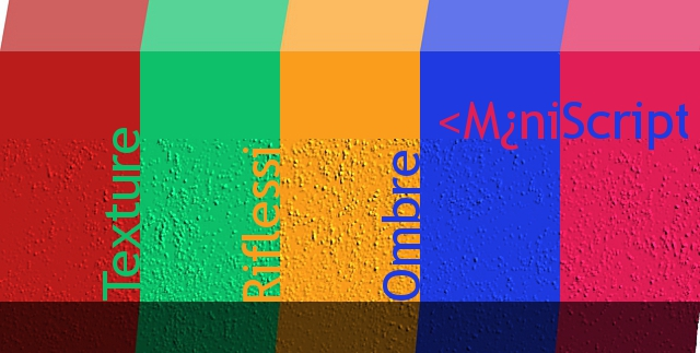 Gimp: realizzare texture, riflessi, ombre (parte 1)