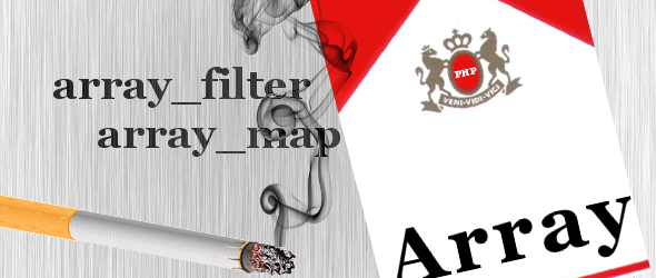 Filtrare gli array con array_filter e array_map