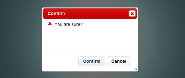Confirm con Jquery UI dialog