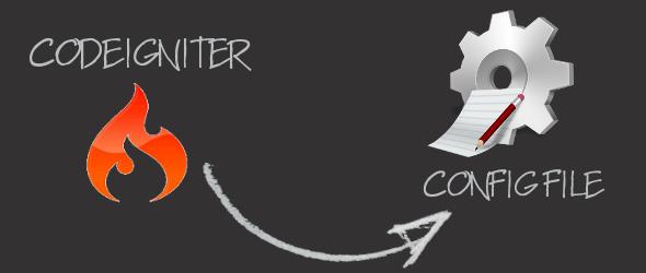 CodeIgniter: creare un file di configurazione