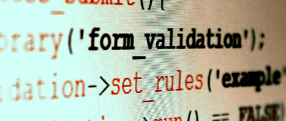 Form Validation Class di Codeigniter: come creare un metodo di validazione